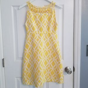 Vintage Yellow Lilly Pulitzer Dress
